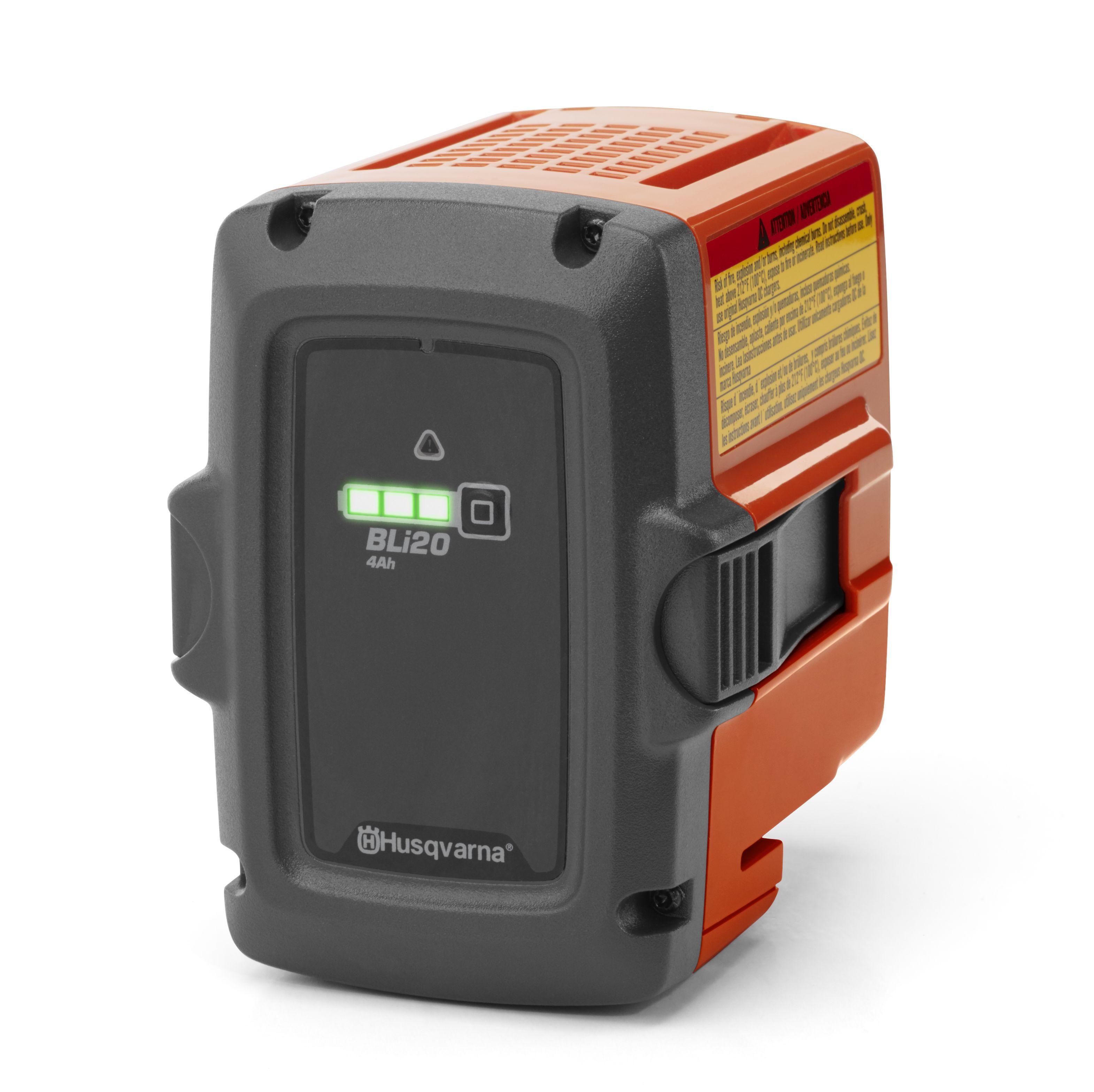 Tron onneuse batterie husqvarna 120i offre pack avec - Tronconneuse a batterie ...