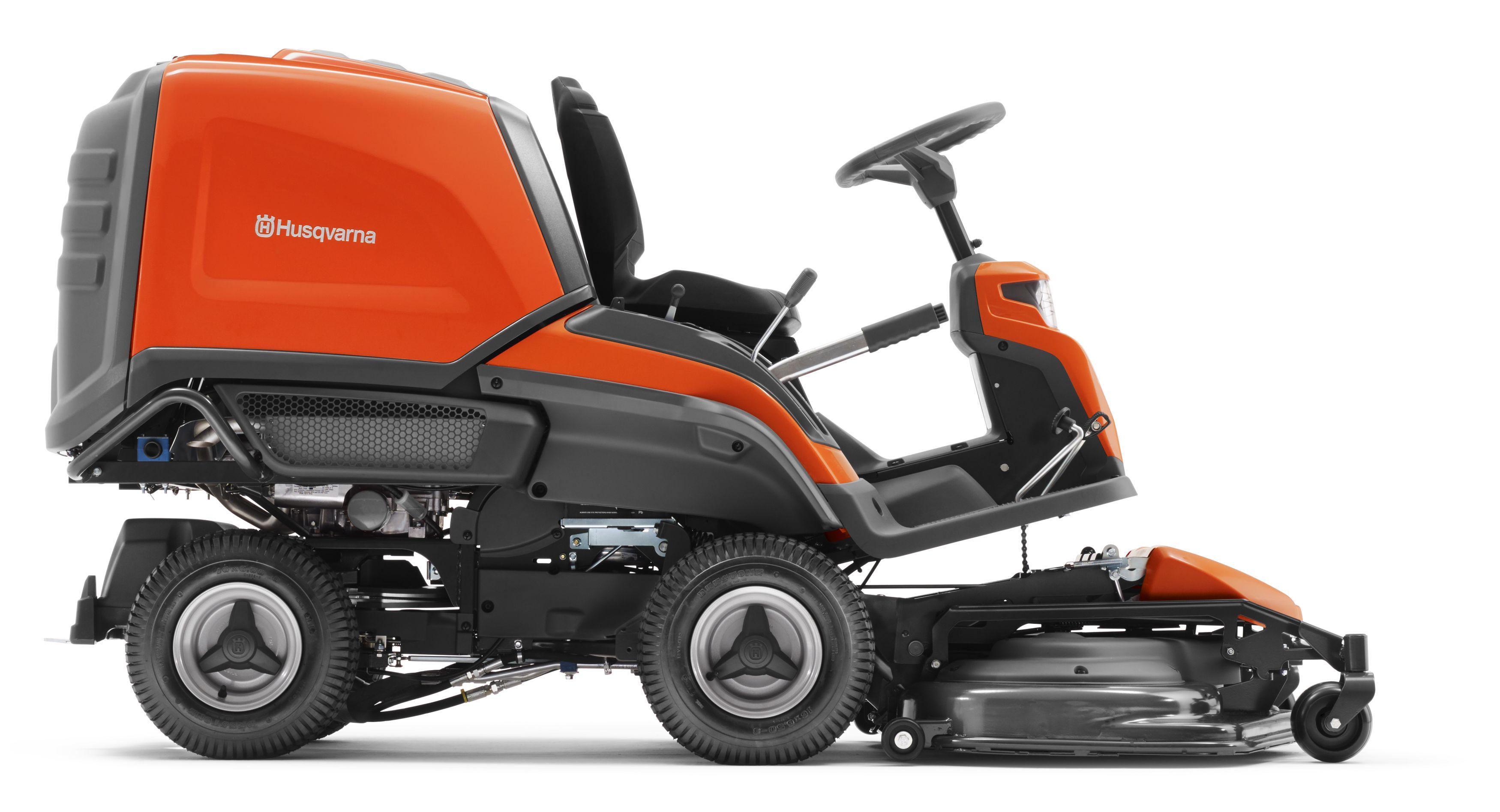 rider husqvarna avec bac rc318t sans plateau de coupe barthelemy jardinage. Black Bedroom Furniture Sets. Home Design Ideas
