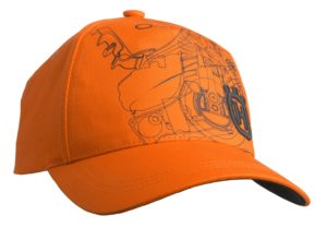 casquette orange HUSQVARNA XPLORER