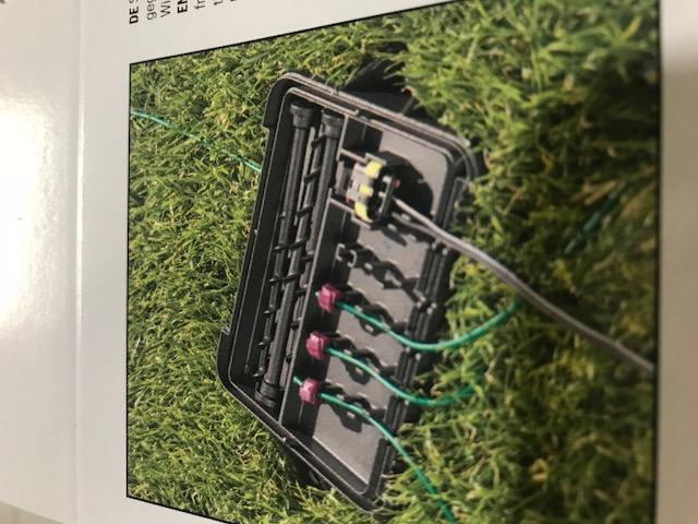 box connecteurs robot tondeuse