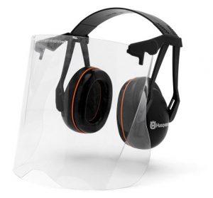 505665360 protège-oreilles gardener avec visière plexiglas