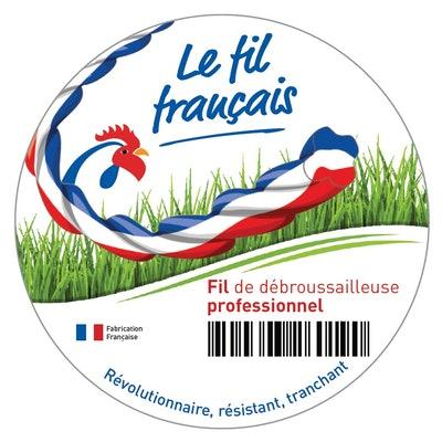 LOGO FIL FRANCAIS DEBROUSSAILLEUSE